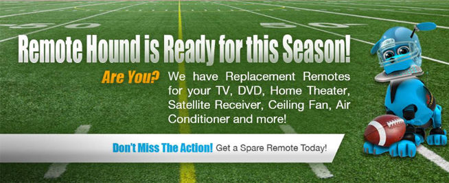 Is your Remote Ready for the game?