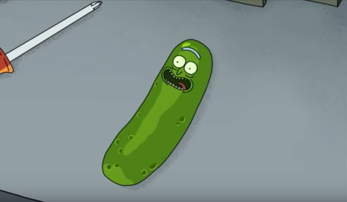 Rick and Morty: Rick is in a Pickle